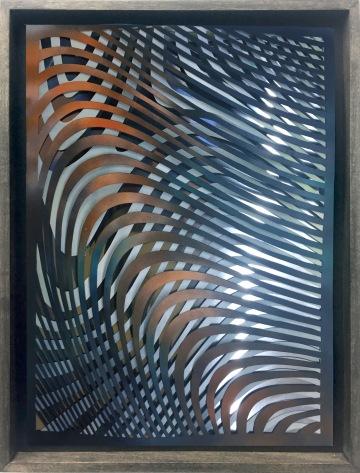 sf1 | paper, mirror foil, acrylic | 42 x 29,5 cm | 2018