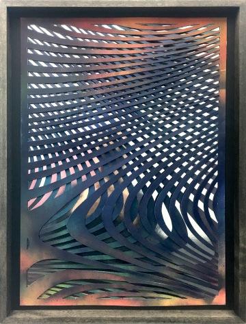 sf2 | paper cut, mirror foil, acrylic | 42 x 29,5 cm | 2018